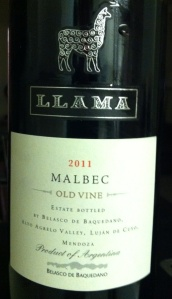Llama Malbec