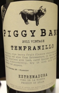 Piggy Bank Tempanillo 2011