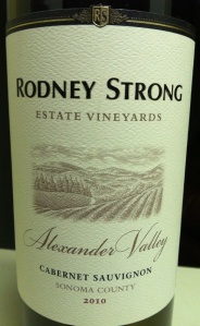 rodney strong cab