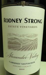 rodney strong cab