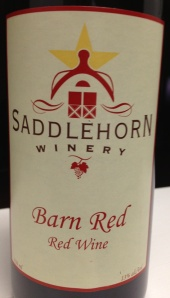 saddlehorn barn red