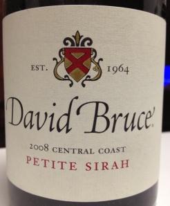 David Bruce Petite Sirah