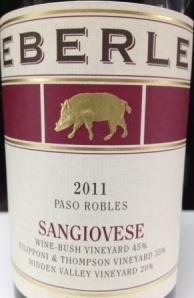 Eberle - Sangiovese