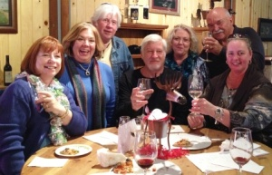 Saddlehorn Winery - new friends