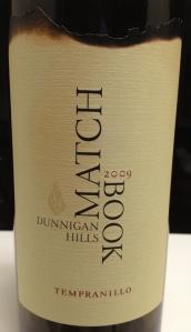 match book tempranillo