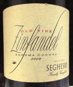 seghesio old vine zin