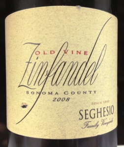 seghesio old vine zin