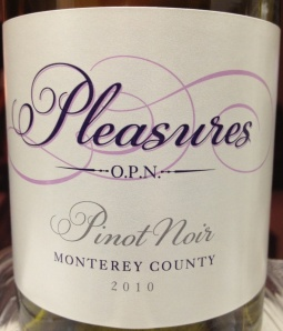 pleasures pinot noir