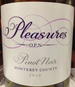pleasures pinot noir